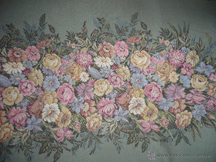 Antigüedades: Tapiz de flores - Foto 3 - 40183827