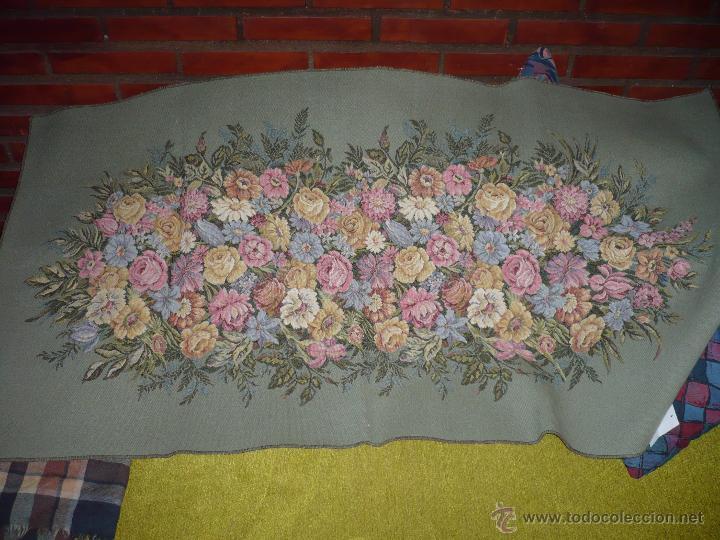 Antigüedades: Tapiz de flores - Foto 4 - 40183827
