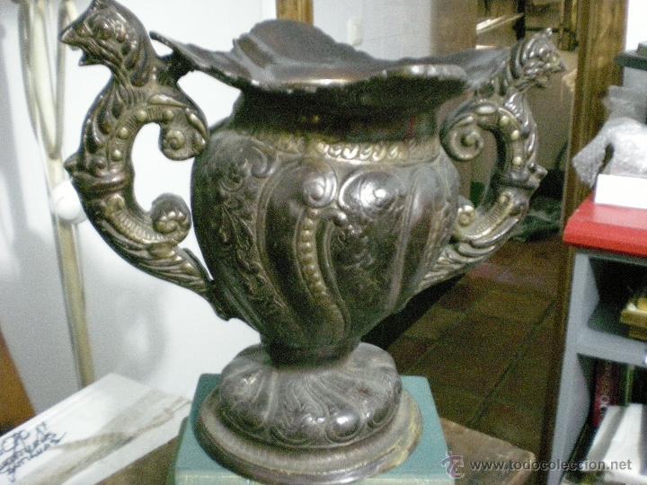 COPA DOBLE ASA BRONCE (Antigüedades - Hogar y Decoración - Copas Antiguas)