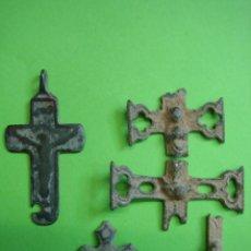 Antigüedades: LOTE DE CRUCES ANTIGUAS. Lote 40216963