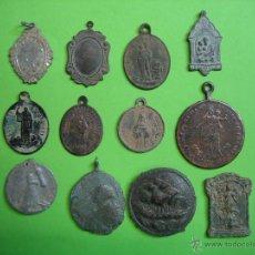 Antigüedades: LOTE DE MEDALLAS ANTIGUAS. Lote 40216985