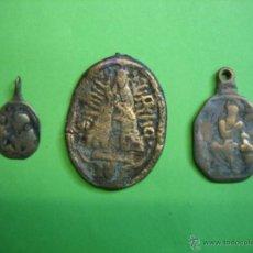 Antigüedades: LOTE DE MEDALLAS ANTIGUAS. Lote 40217131