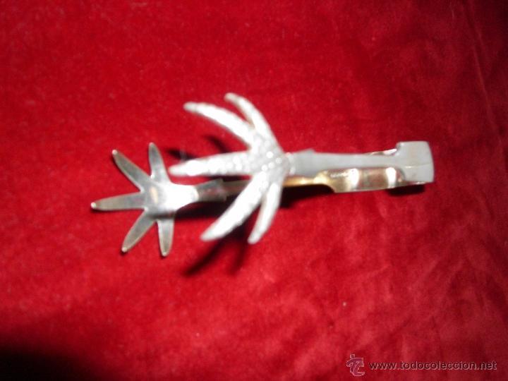 Antigüedades: Antiguas pinzas de plata de ley extranjera - Foto 5 - 40242370