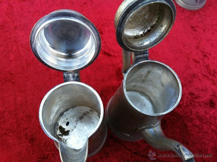 Antigüedades: JUEGO ANTIGUO DE TE Y CAFE EN METAL PLATEADO Y SELLADO E.P.N.S. - Foto 7 - 40244288