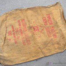 Antigüedades: ANTIGUO SACO DE ABONO CS EMPRESA NACIONAL CALVO SOTELO. NITRATO AMÓNICO.. Lote 40271509