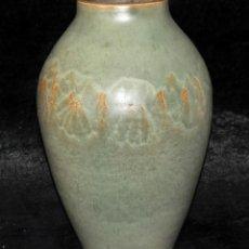 Antigüedades: JORDI AGUADE CLOS (BARCELONA, 1925) JARRON EN CERAMICA PINTADA. Lote 40279463