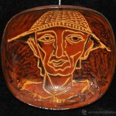 Antigüedades: PLATO O CUENCO EN CERÁMICA VIDRIADA DE VILA CLARA (LA BISBAL) GIRONA.. Lote 40281390