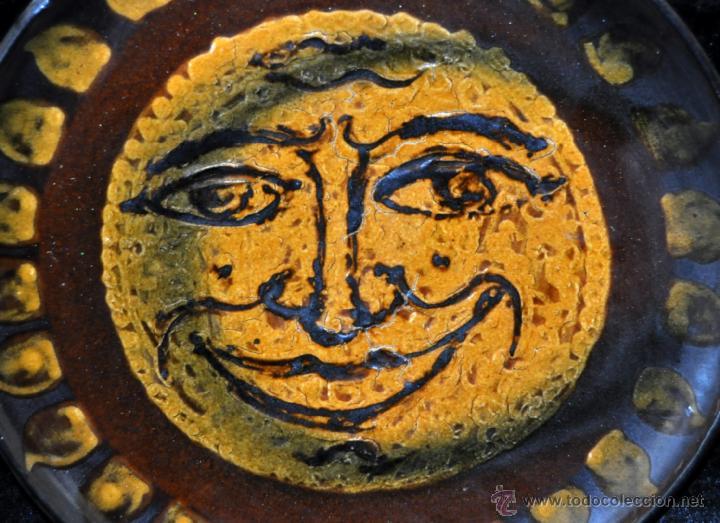 Antigüedades: PLATO EN CERÁMICA VIDRIADA DE VILA CLARA (LA BISBAL) GIRONA. - Foto 2 - 40281584