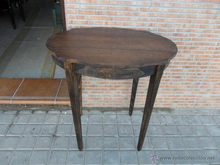 MESA AUXILIAR (Antigüedades - Muebles Antiguos - Mesas Antiguas)