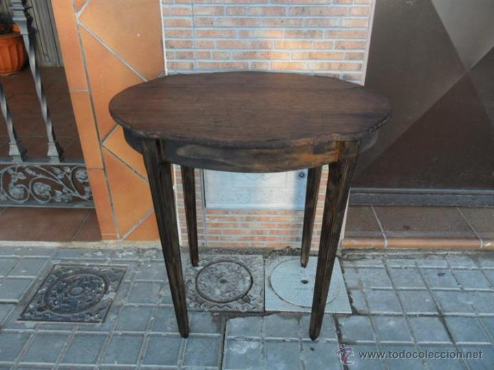 Antigüedades: mesa auxiliar - Foto 2 - 40304499