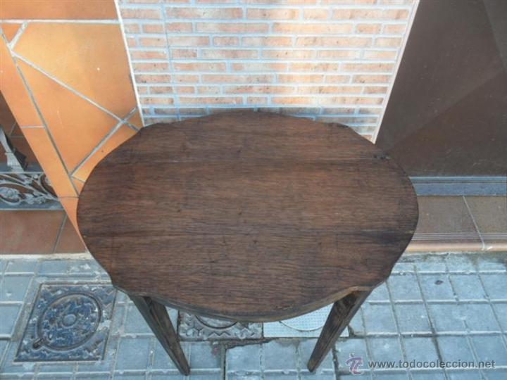 Antigüedades: mesa auxiliar - Foto 3 - 40304499