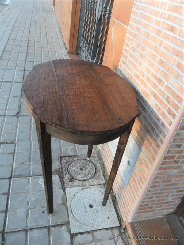 Antigüedades: mesa auxiliar - Foto 4 - 40304499