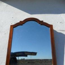 Antigüedades: ESPEJO CAOBA Y MARQUETERIA. Lote 40311186