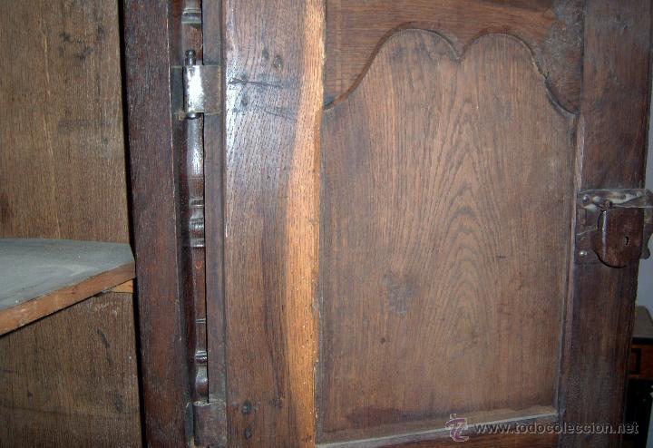 Antigüedades: Mueble Provenzal de colgar del SXVII- XVIII. - Foto 6 - 40319147