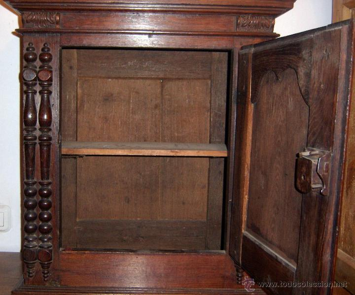 Antigüedades: Mueble Provenzal de colgar del SXVII- XVIII. - Foto 8 - 40319147