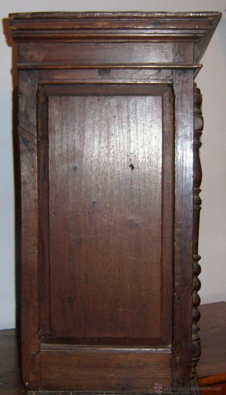 Antigüedades: Mueble Provenzal de colgar del SXVII- XVIII. - Foto 10 - 40319147