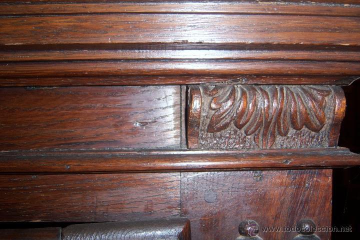 Antigüedades: Mueble Provenzal de colgar del SXVII- XVIII. - Foto 15 - 40319147