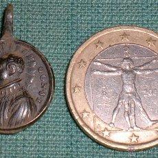 Antigüedades: MEDALLA DEL SAN LUIS SIGLO XVII PRECIOSA. Lote 40326884