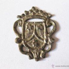 Antigüedades: PEQUEÑA MEDALLA DE LAS CARMELITAS EN PLATA. Lote 59887553