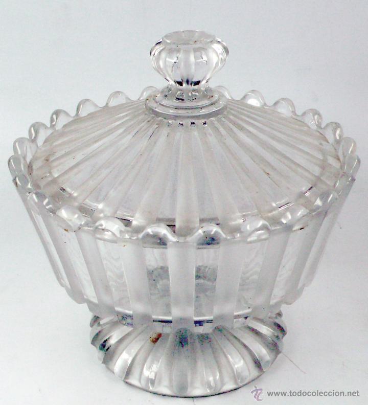AZUCARERA DE BACCARAT, 16,5 CM DE DIÁMETRO X 16 CM DE ALTURA, VER FOTOS ANEXAS. (Antigüedades - Cristal y Vidrio - Baccarat )