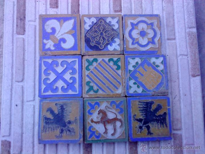 Baldosa loseta azulejo porcelana cer mica antig comprar for Precio baldosa ceramica