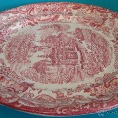 Antigüedades: PLATO PICKMAN S.A. LA CARTUJA DE SEVILLA SERIE ROSA 202. Lote 62469835