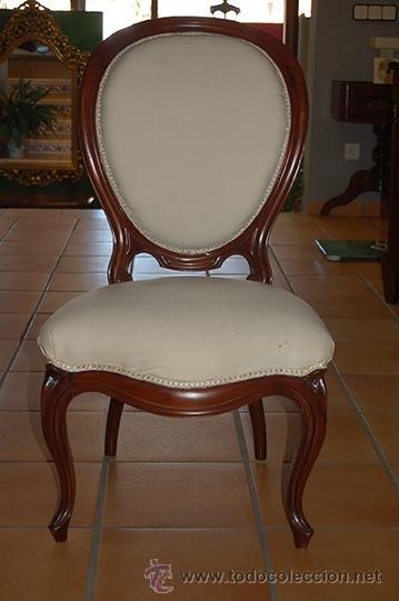 Silla isabelina medianos siglo xix comprar sillas for Muebles antiguos todocoleccion