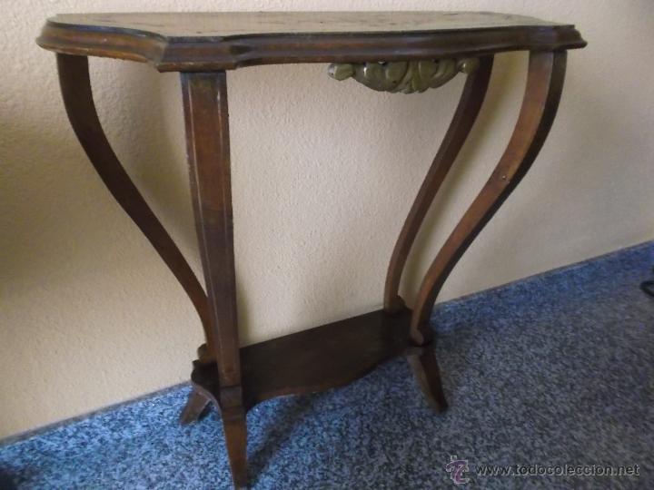 pequeña mesa recibidor - Comprar Mesas Antiguas en todocoleccion ...