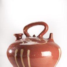 Antigüedades: BOTIJO DECORADO DE LA BISBAL. Lote 40387173