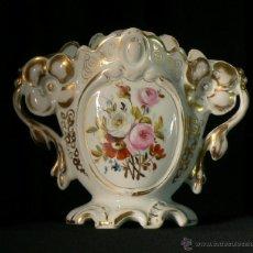 Antigüedades - ANTIGUO JARRON ISABELINO O VIEJO PARIS DE PORCELANA - 40389433