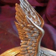 Antigüedades: CALIENTA COPAS. AVE. METAL. Lote 40389895