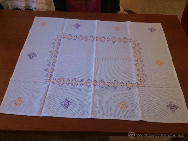 Mantel de tela panam y bordado yugoslavo comprar for Telas para manteles precios
