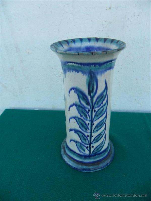 FLORERO DE CERAMICA (Antigüedades - Hogar y Decoración - Floreros Antiguos)