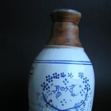 Antigüedades: BOTELLA CERÁMICA . ROSA LYON 1879 . MEDICINA SIGLO XIX.. Lote 40411750