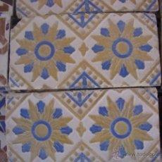 Antigüedades: PAREJA DE AZULEJOS RAMOS REJANO SIGLO XIX. Lote 49054311