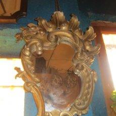Antigüedades: CORNUCOPIA DORADA AÑOS 20 EN ESCAYOLA.. Lote 27094541
