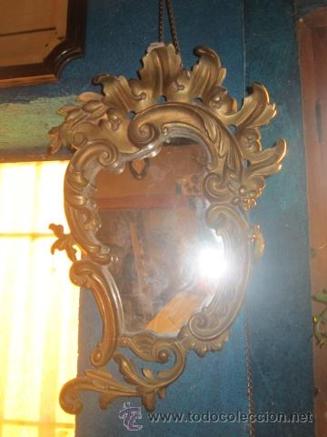 Antigüedades: Cornucopia dorada años 20 en escayola. - Foto 3 - 27094541