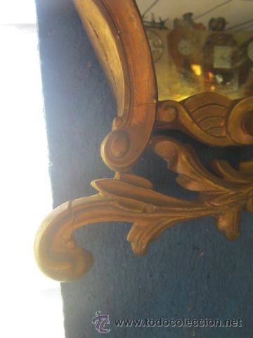 Antigüedades: Cornucopia dorada años 20 en escayola. - Foto 4 - 27094541