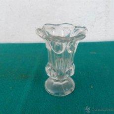 Antigüedades: PEQUEÑO FLORERO CRISTAL. Lote 40433090