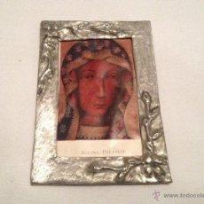 Antigüedades: ANTIGUO CUADRO ICONO POLACO RELIGIOSO EN MINIATURA. Lote 40433453