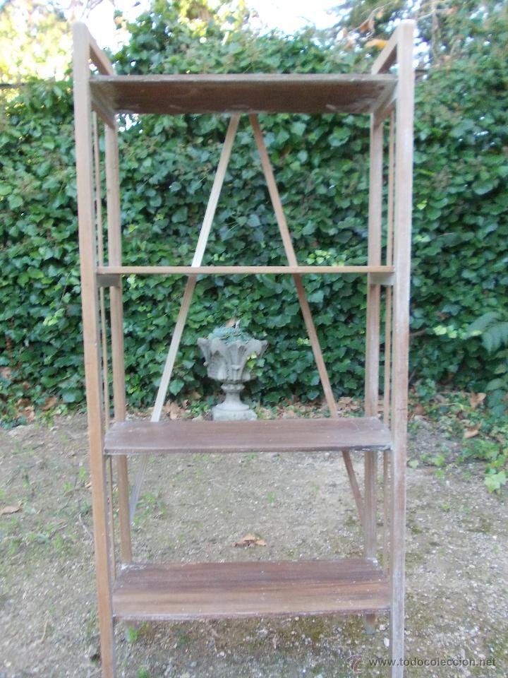 Antigüedades: Estantería de madera - Foto 2 - 40445679