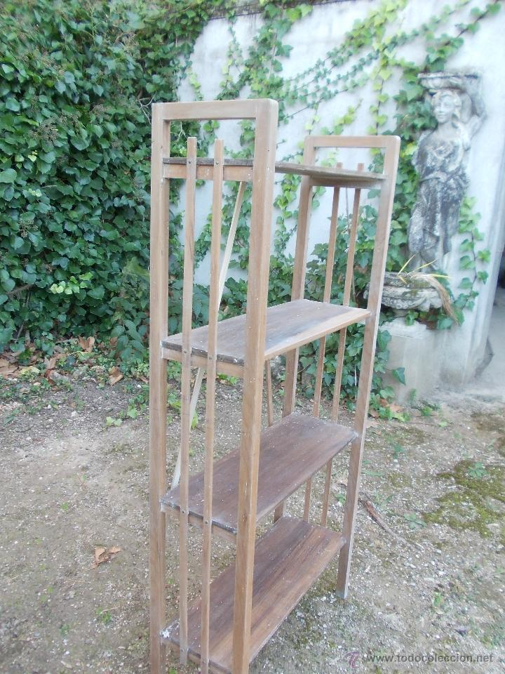 Antigüedades: Estantería de madera - Foto 3 - 40445679