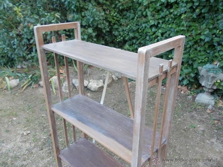 Antigüedades: Estantería de madera - Foto 4 - 40445679