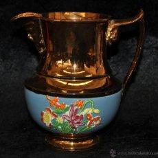 Antigüedades: ANTIGUA JARRA DE REFLEJOS (BRISTOL) EN . FINALES SIGLO XIX. Lote 40451540