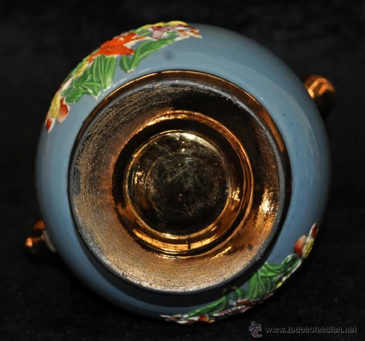 Antigüedades: ANTIGUA JARRA DE REFLEJOS (BRISTOL) EN . FINALES SIGLO XIX - Foto 6 - 40451540