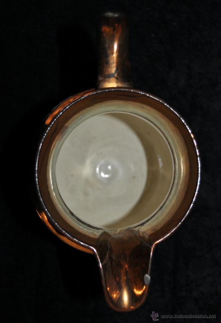 Antigüedades: ANTIGUA JARRA DE REFLEJOS (BRISTOL) EN . FINALES SIGLO XIX - Foto 7 - 40451540