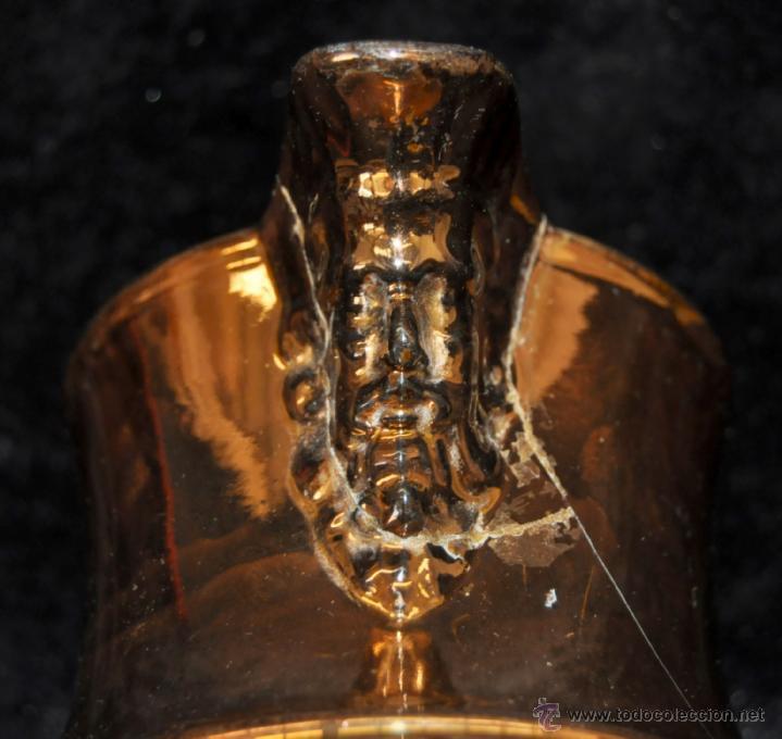 Antigüedades: ANTIGUA JARRA DE REFLEJOS (BRISTOL) EN . FINALES SIGLO XIX - Foto 8 - 40451540