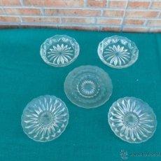 Antigüedades: 5 PEQUEÑOS PLATOS. Lote 40456712