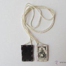 Antigüedades: ESCAPULARIO. Lote 40468824