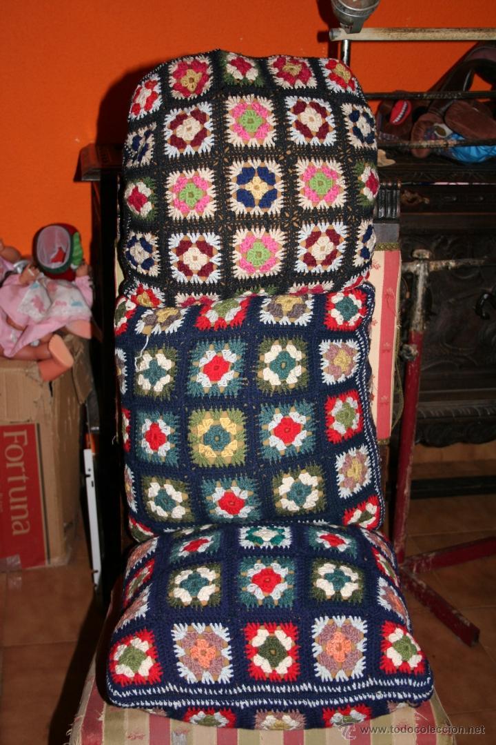 antiguos cojines de ganchillo   Comprar en todocoleccion   47547340